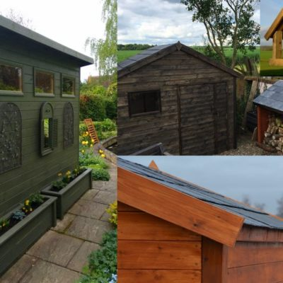 Bespoke sheds and timber products